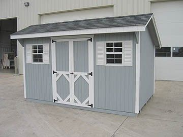saltbox wood storage shed kit 17 sizes 8 x 8 to 12 - Garden Sheds 8 X 12