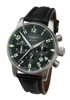 960c35324 Poljot Aviator Chronograph 31681 | Hodinky | Chronograph, Watches ...