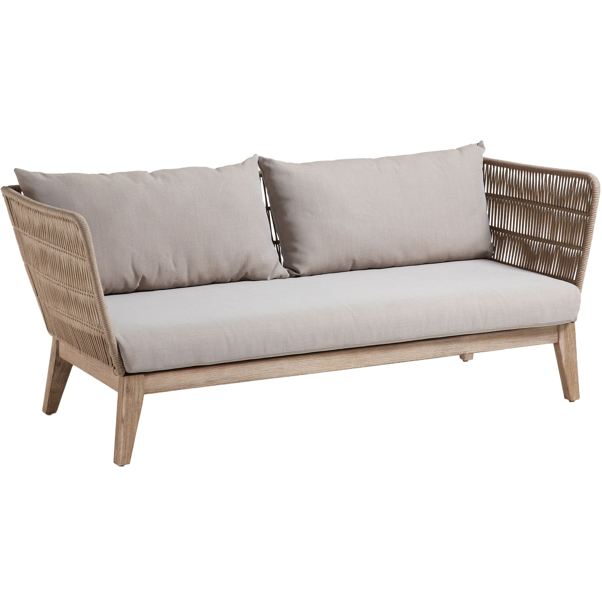 Daybed Outdoor Tchibo Beige Wallace 3 Seater Outdoor Sofa In 2019 Furniture
