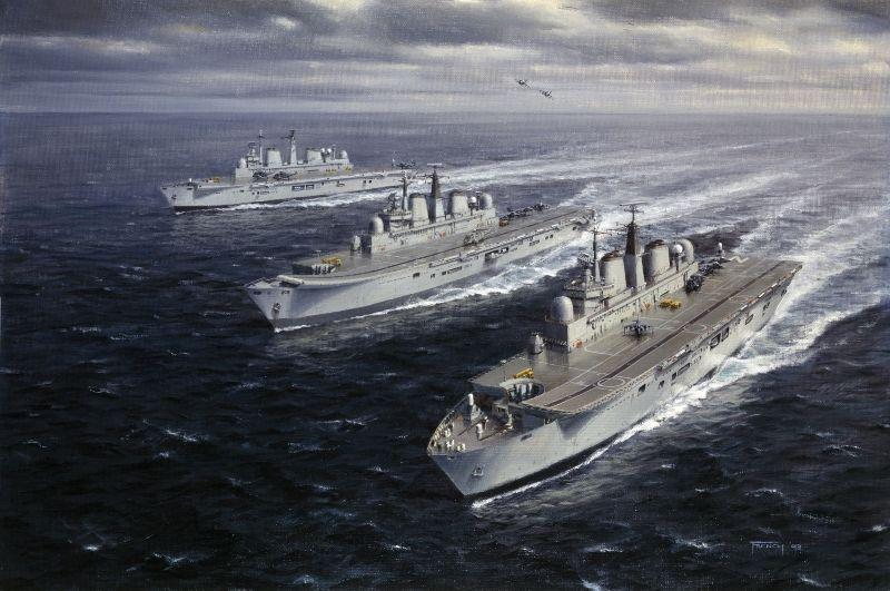 Invincible Force - HMS Invincible, HMS Illustrious and HMS Ark Royal.