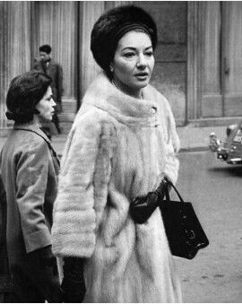 Maria Callas And Her Maid Bruna Maria Callas Musik