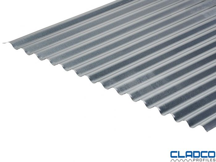 13 3 0 7 Thick Galvanised Corrugated Roofing Sheets In 2020 Corrugated Roofing Roofing Sheets Galvanized Roofing