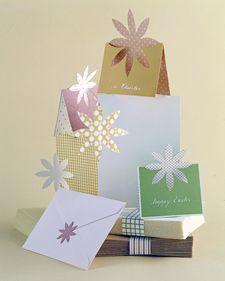 sobres y tarjetas con estilo