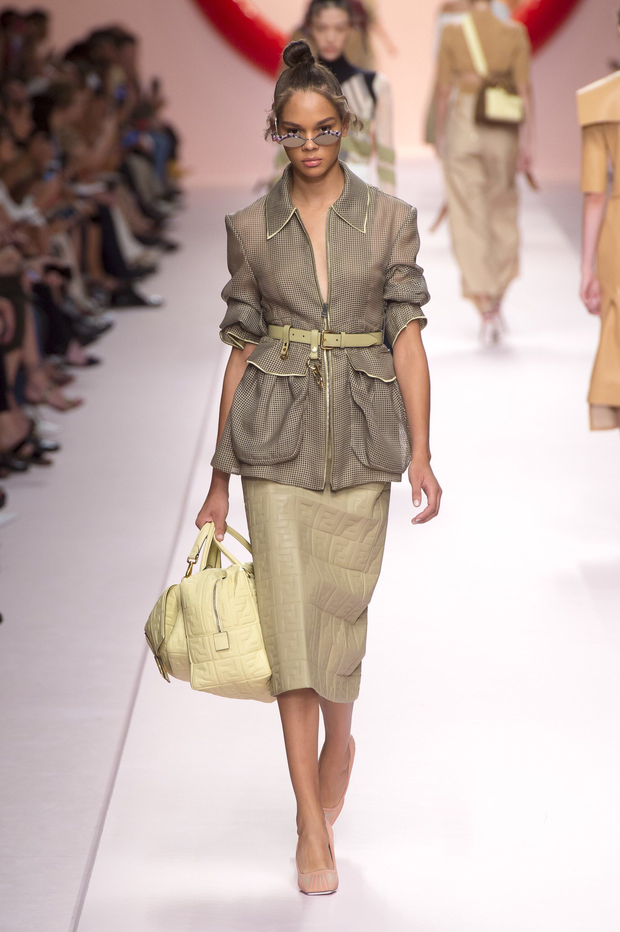 Watch Fendi RTW SpringSummer 2019 Collection at MFW video