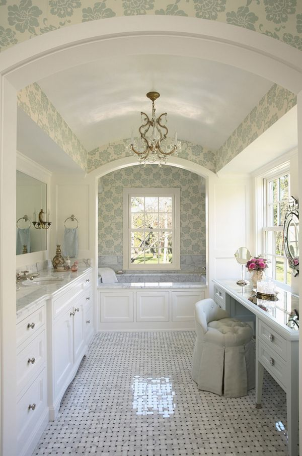 Antique Bathrooms with Trendy Appeal | Pinterest | House, Future and ...