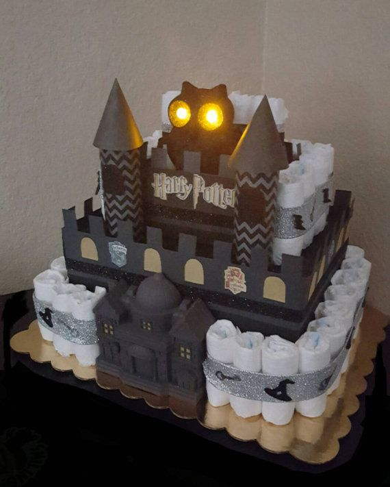 Babyshower · Harry Potter Luier Cake ...