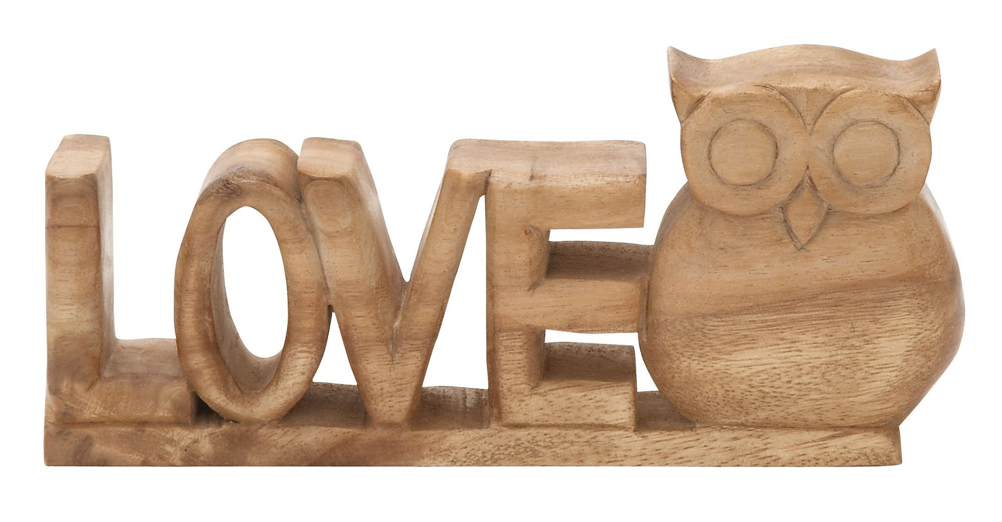 Love Owl Letter Block