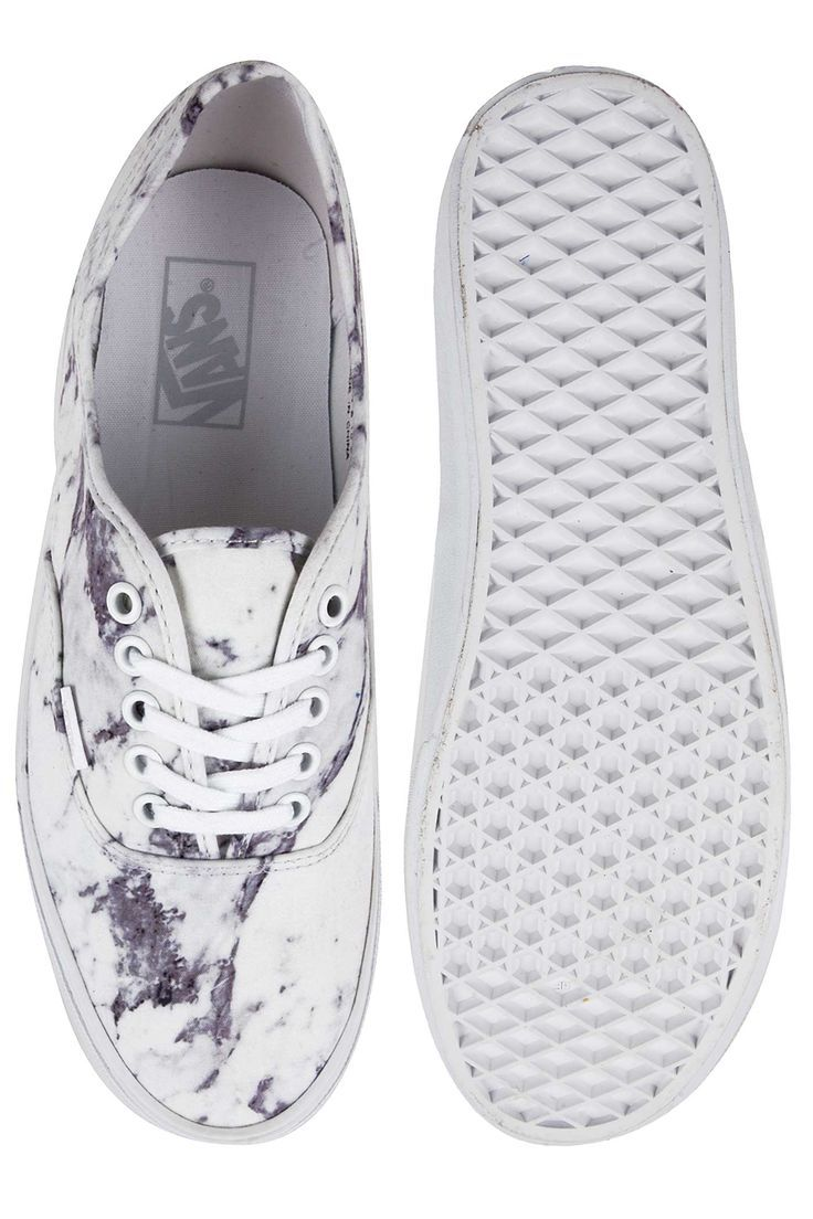 Vans Authentic Schoen Marble True White Schuhe Und