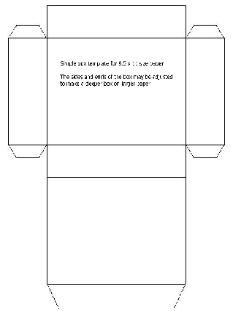 Printable gift box templates FREE to download, print and make ...