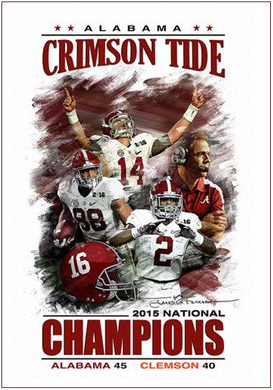 Artwork Alabama Crimson Tide Football Crimson Tide Fans