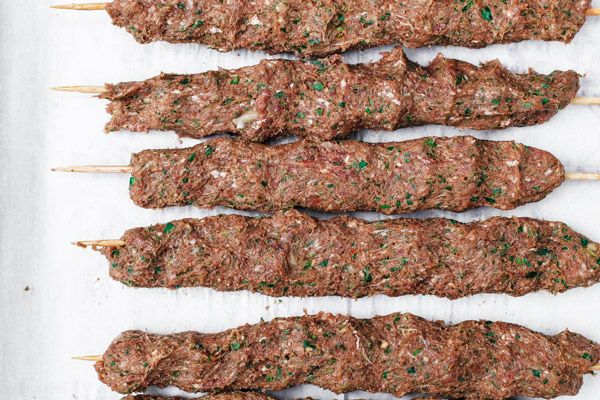 Kofta Kebab Recipe The Mediterranean Dish Kebab Recipes Kofta Kebab Recipe Kefta Kabob Recipe