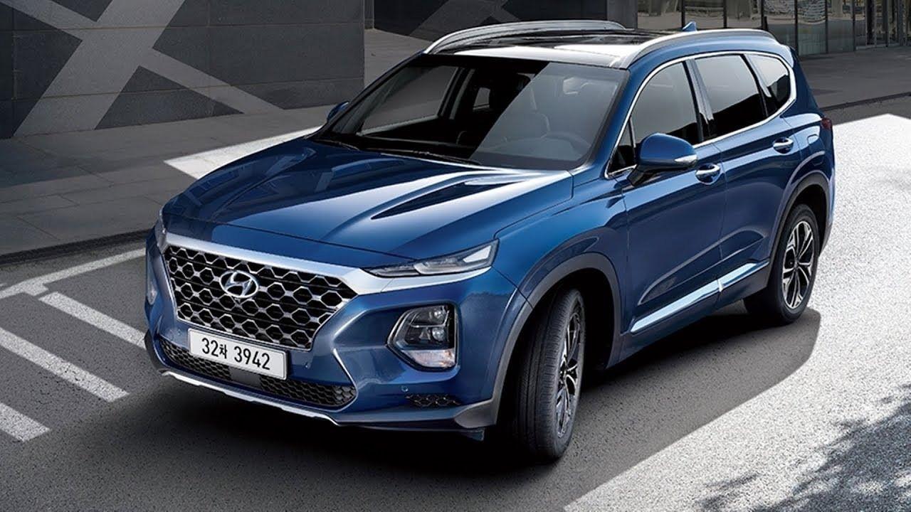 Hyundai Santa Fe Limited 2019 Interior, Exterior and
