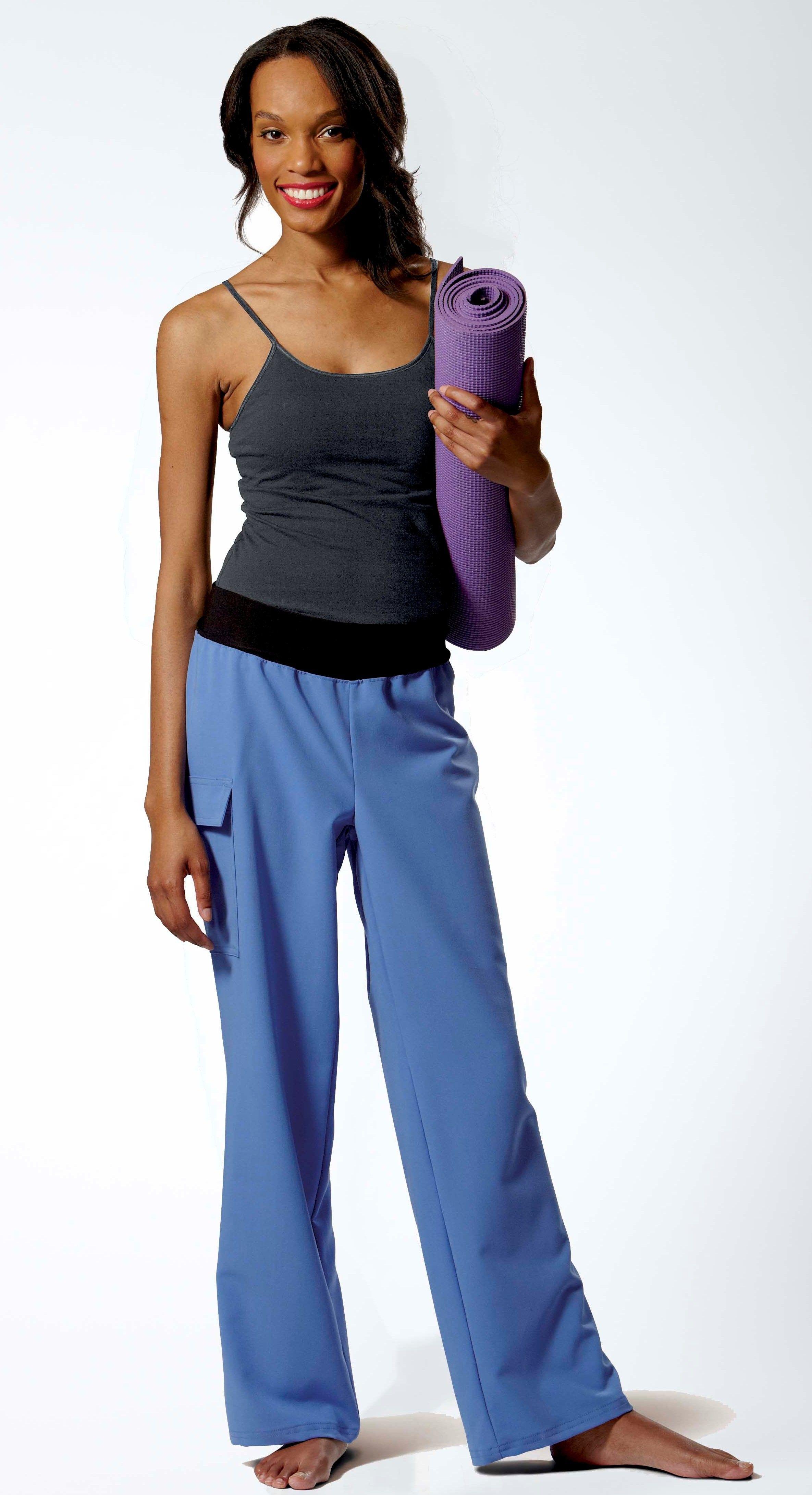 AVE. | Scrub Pant | Ocean AVE. Womenu0026#39;s Yoga Pants - $22.99 | AVE. by Medline Fashion Scrubs ...