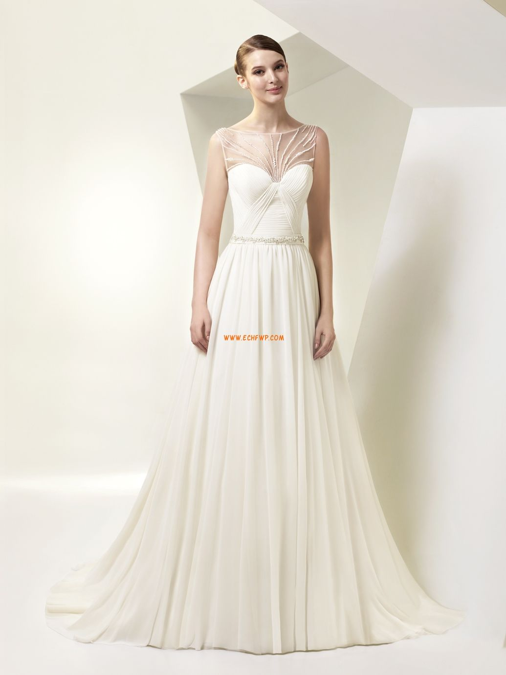 Priscilla of boston wedding dress  Avonalú Ujjatlan Menyasszonyi ruhák   Legszebb esküvői ruhák