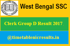 WBSSC Group D Result 2017 (With images) | Board exam time table. Board exam. Exam time