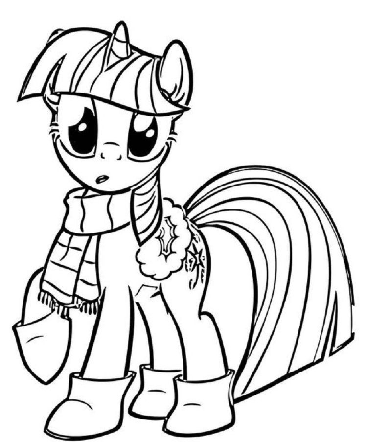 my little pony apple jack at winter