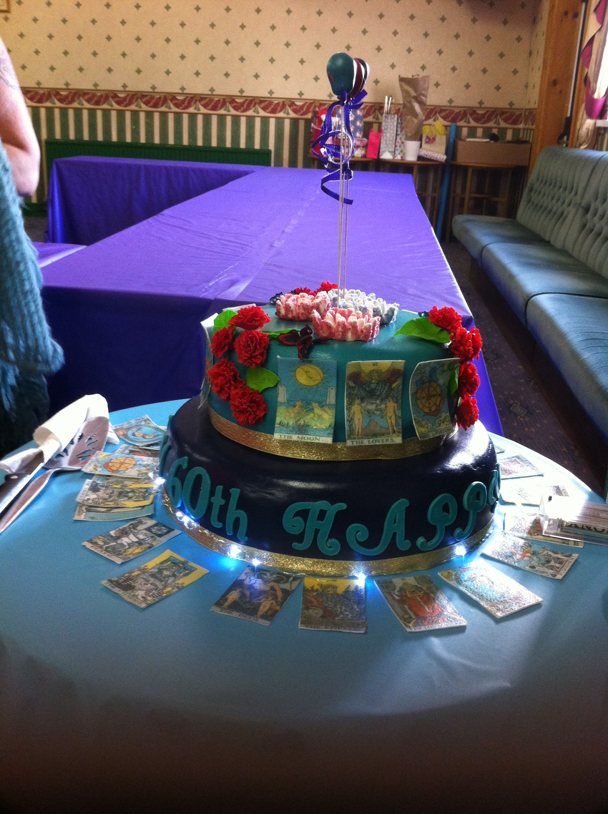 Tarot Card Theme 60th Cake | Giant jaffa cake, Jaffa cake ...