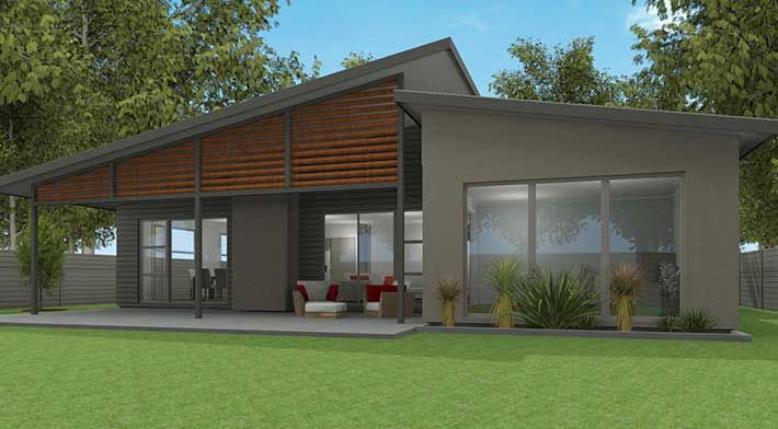 Mono pitch house plans google search in the detail in for Mono pitch house plans