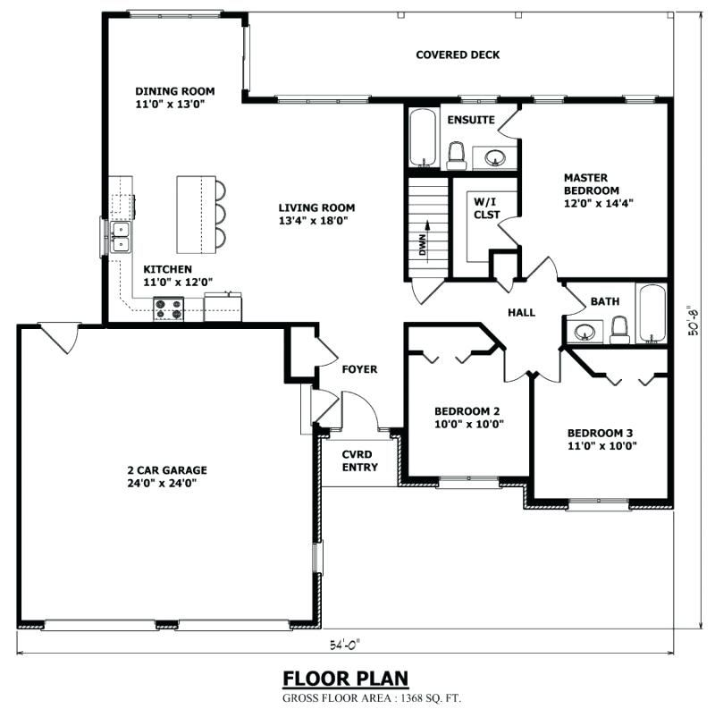 Bungalow House Plans Floor Plan 2 Bedroom Bungalow House Plans In Nigeria Bungalow House Plans House Plan Gallery Bungalow House Floor Plans