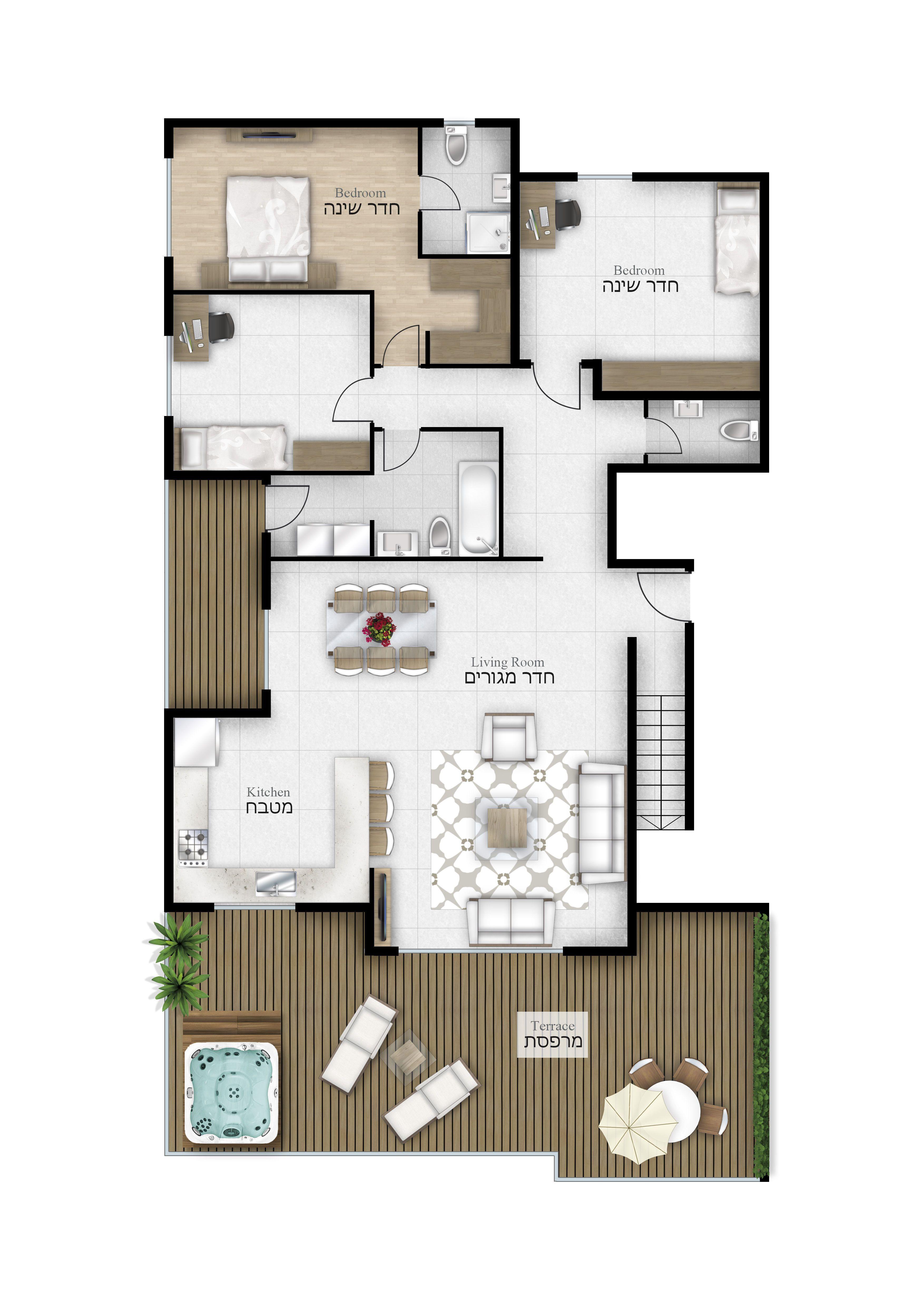 forniture plans 2d furniture floorplan top down view psd 3d model