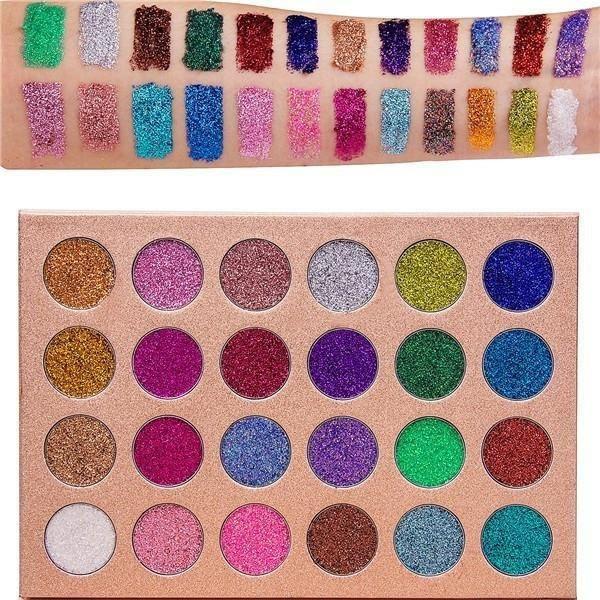 Bomb Dot Com 24 Shade Glitter Palette in 2020 Glitter