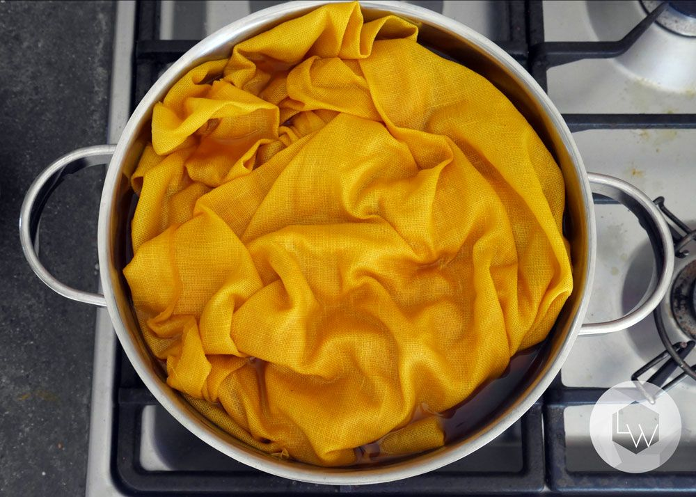 Hello monday dyeing with turmeric lila is a wolff