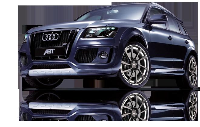 Audi Q5 Abt Aerodynamic Body Kit Installed Painted With Wheels Tyres Audi Q5 Audi Q5 Tdi Audi