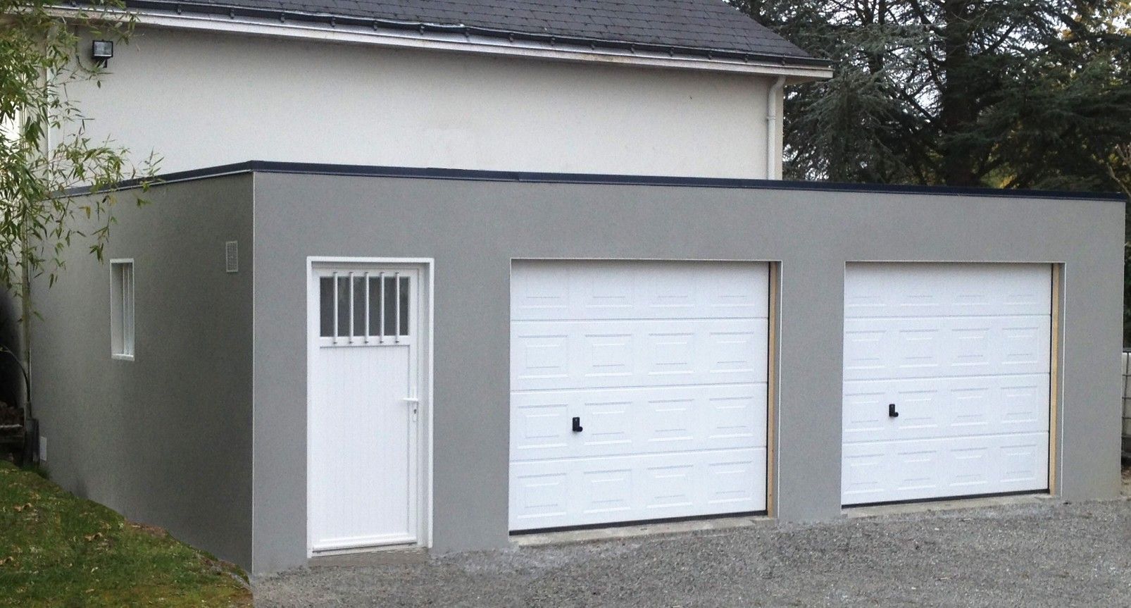 Garage Beton Toit Plat Rraf Info Davidreed Co 2 Storey House Design Garage 2 Storey House