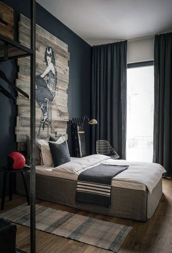 40+ Masculine Bedroom Ideas & Inspirations images