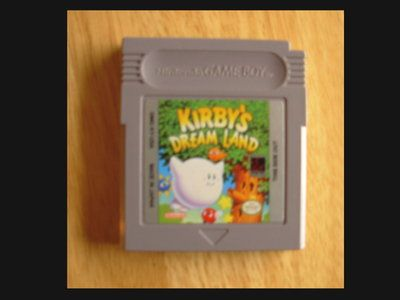 Original Gameboy Game Plays on GBC GBA SP ~ KIRBY'S DREAM LAND ~ 5 Levels Best