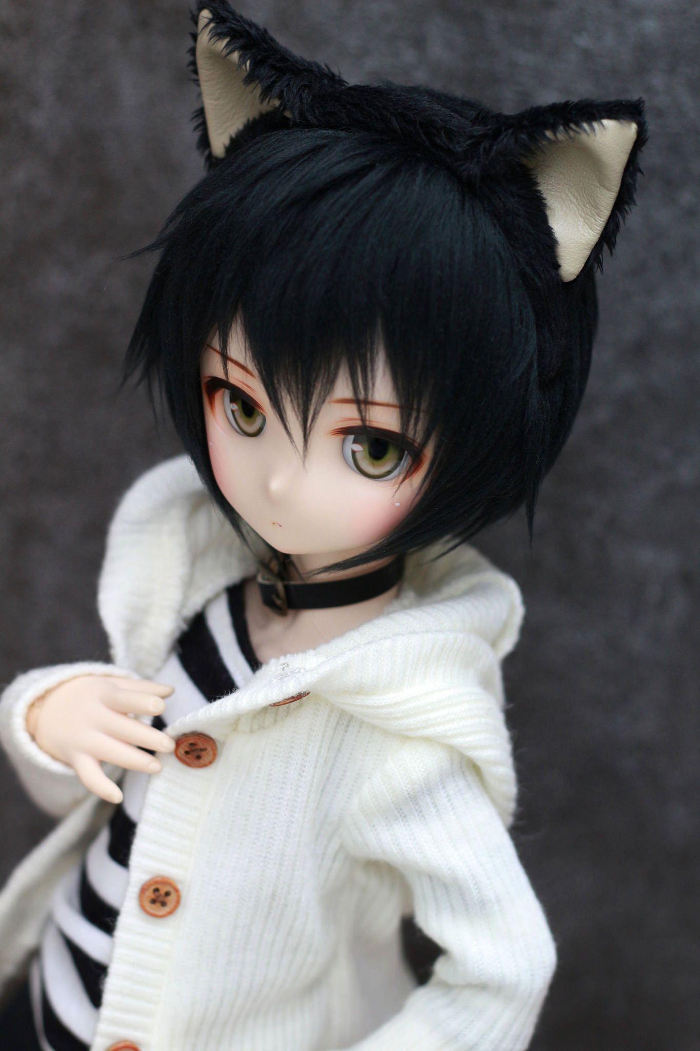 201510 「MDD黒猫セット」 คาวาอี ตุ๊กตาแฟชั่น และ สาวน้อย