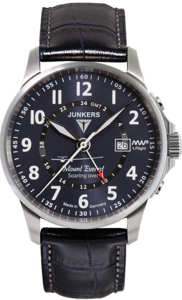 Junkers Watch Mountain Wave Project 2015 2016 Sale Bezel Fixed Black Friday Special Bracelet Strap Leather B Junkers Watch Watches For Men Classic Watches