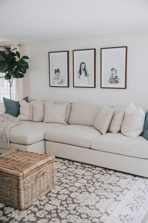 Living Room Progress - Lynzy & Co.
