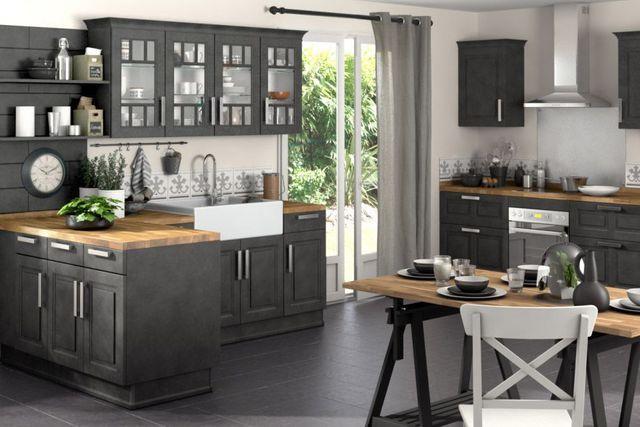 Déco Cuisine Campagne Campagne Idée Cuisine Et Cuisines - Deco cuisine style campagne pour idees de deco de cuisine