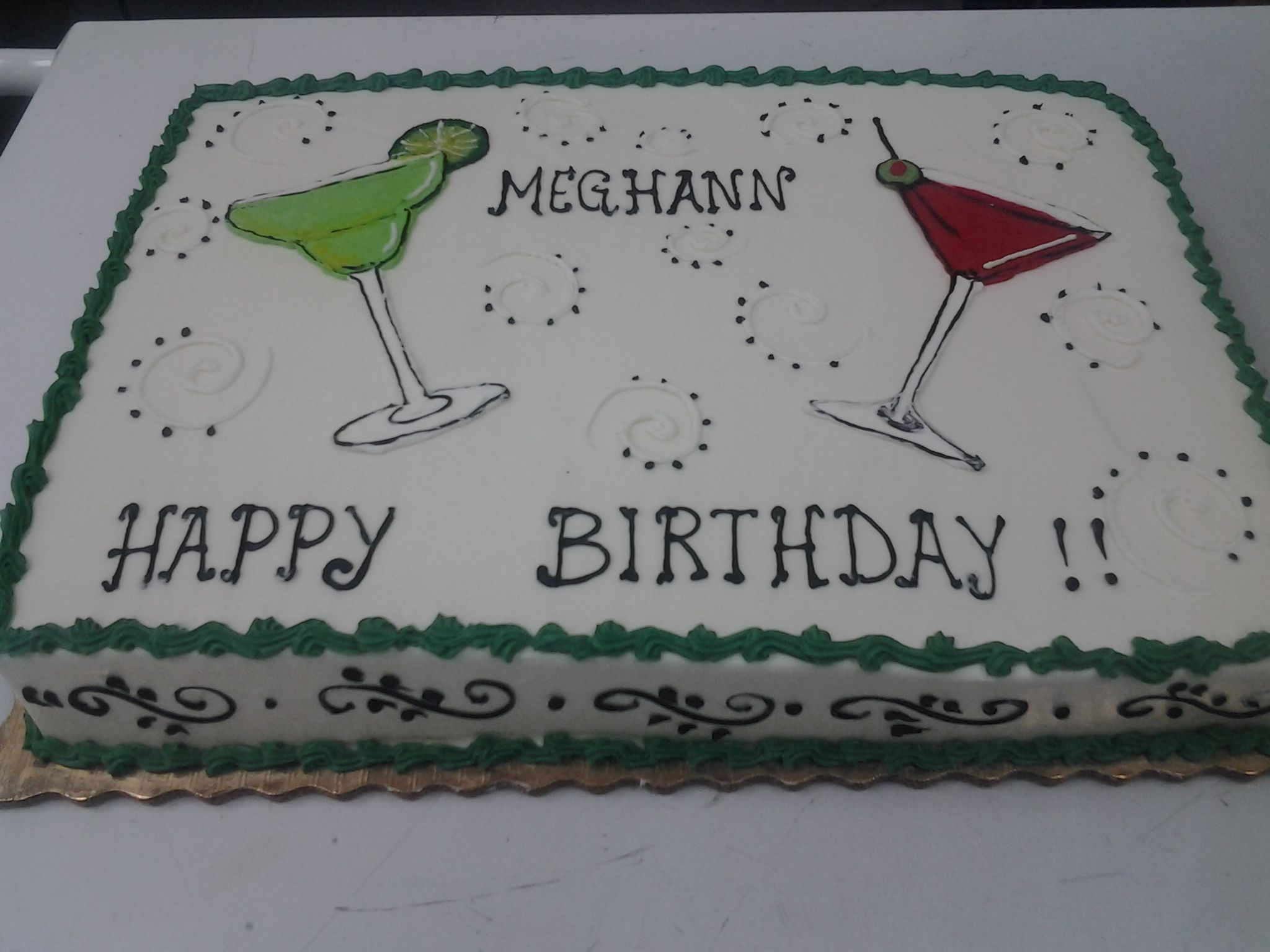 Birthday Cake For A Bartender Birthday Cakes Adults Pinterest