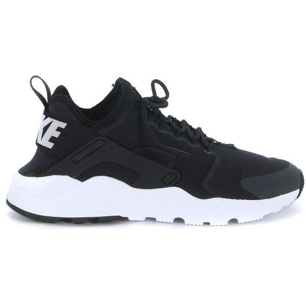 hot sale online f0984 ba3cd Nike Air Huarache Run Ultra Black Fabric Sneaker ( 120) ❤ liked on Polyvore  featuring shoes, sneakers, nero, nike trainers, nike shoes, nike, nike  sneakers ...