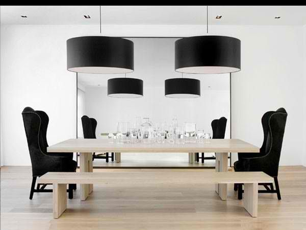 Modern Day Dining Room Black And White Dining Room Modern