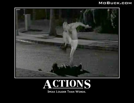 Curb Stomp American History X Actions Speak Louder Than Words American History