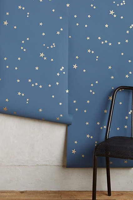 Wish Upon A Star Wallpaper Nursery Wallpaper Bedroom Star