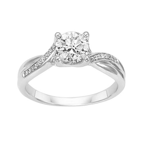 Fred Meyer Jewelers 1 ct tw Certified Diamond Engagement Ring