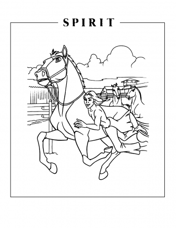 Horse Family Coloring Pages Pictures
