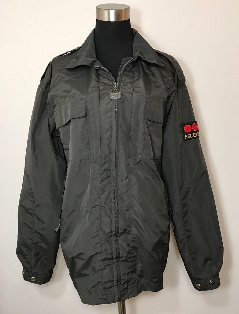 Securitas By Galls Mens Womens Jacket Gray Ja682 Security