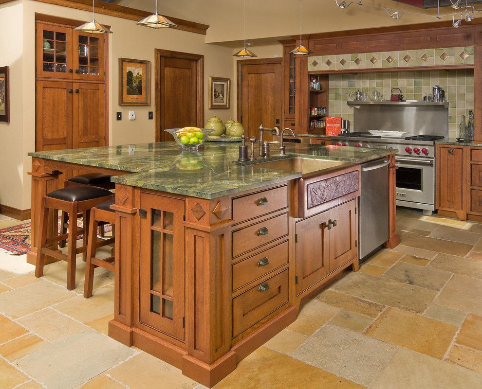 Pin By Salmon Falls Cabinetry On Islands Craftsman Style Kitchens Kitchen Renovation Kitchen Design