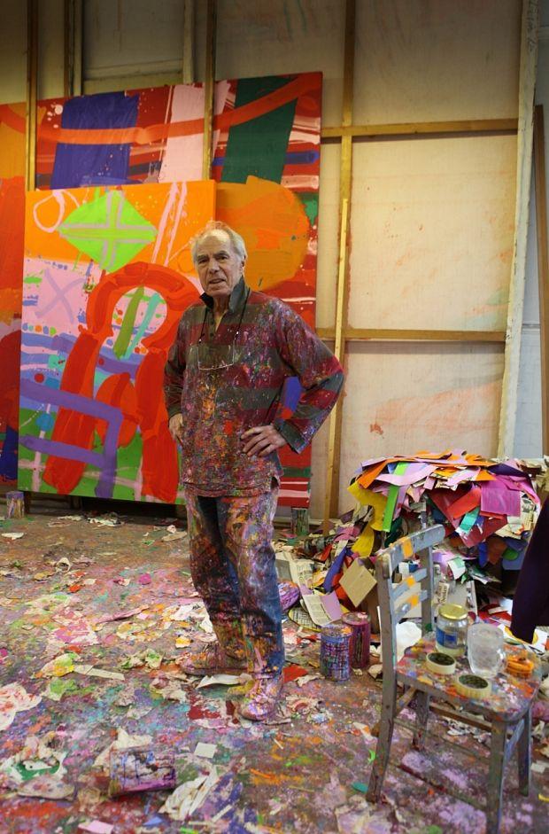 Albert Irvin Artist Obituary Jackson Pollock Kitchen