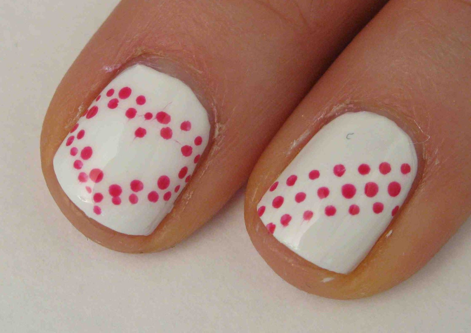 Easy Valentineu0027s Day Nail Art Designs   A Really Simple Yet Cute Design.  Great For