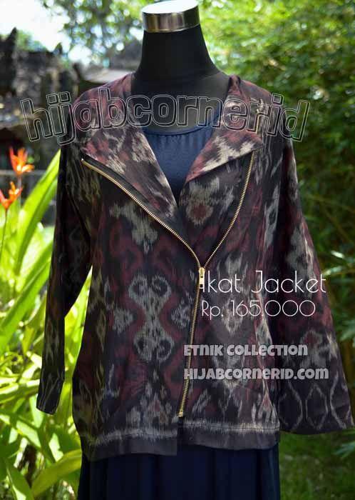 Jual Baju Outer Tenun Ikat Endek Bali Padu Padan Praktis bagi
