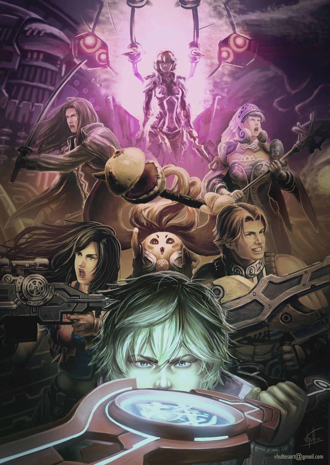 7 Major Gameplay Changes Xenoblade Chronicles De Gamingroi Xenoblade Chronicles Fan Art Story Arc