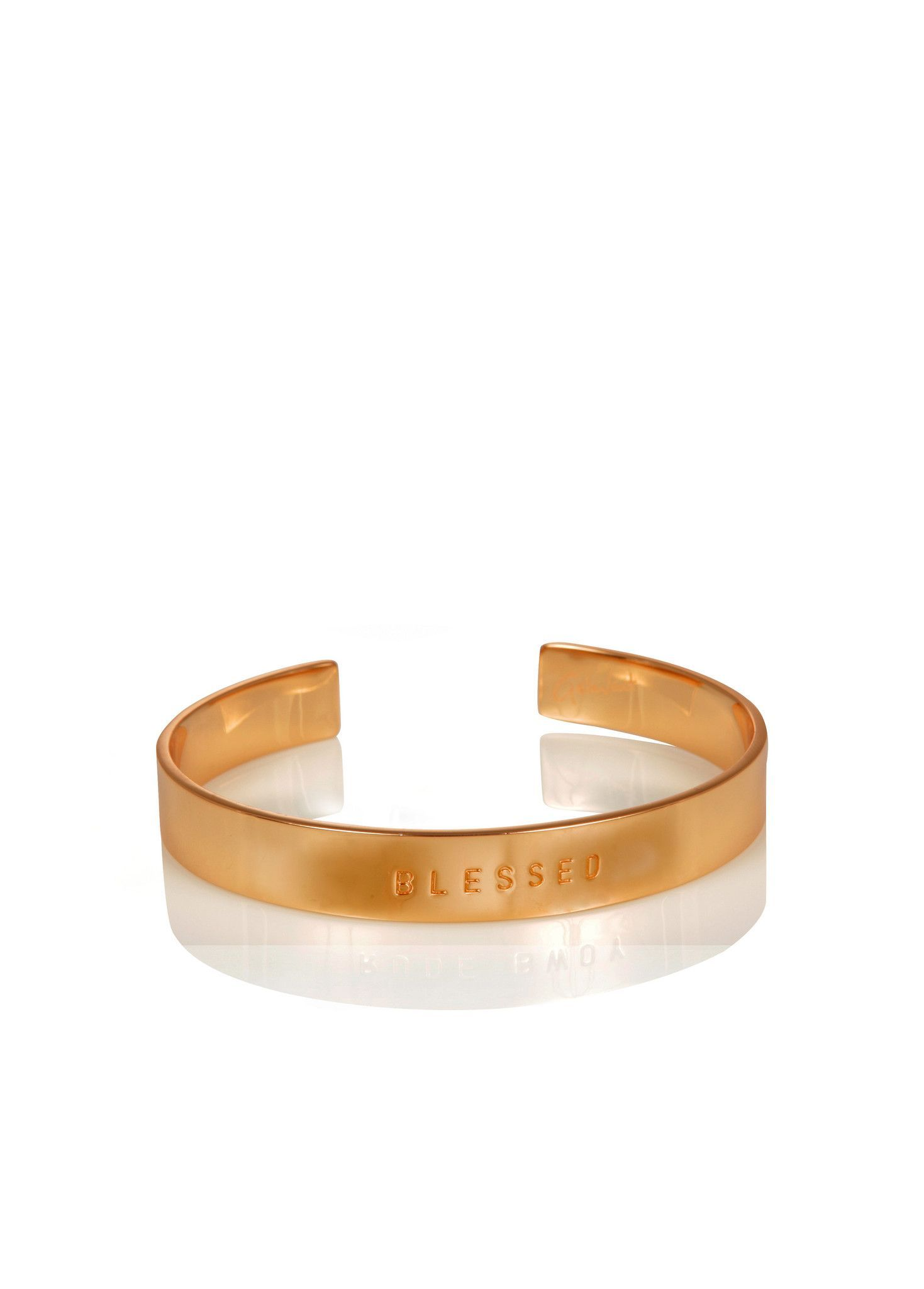 WORD UNISEX CUFF - BLESSED