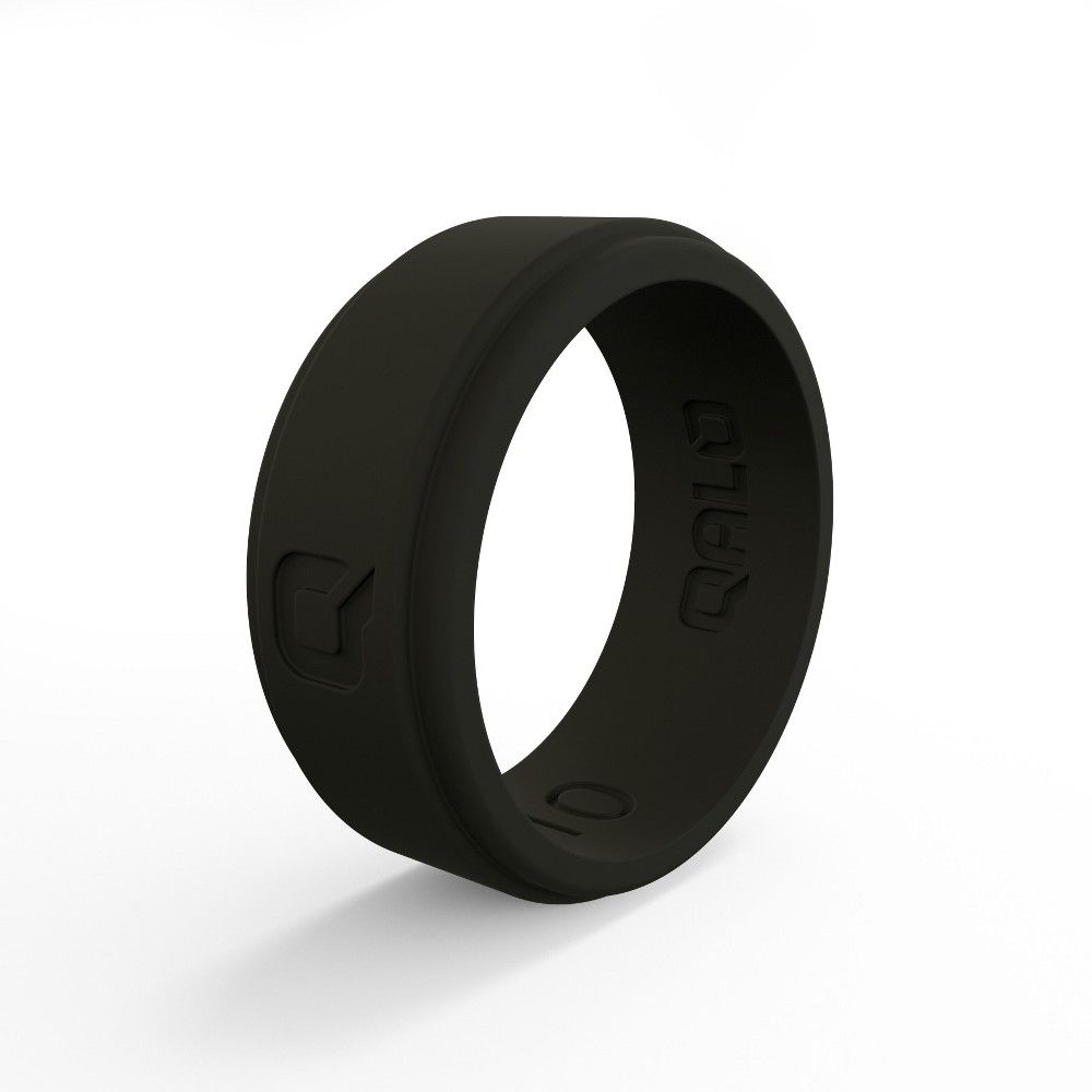 QALO Mens Strata and Step Edge Silicone Ring Collections