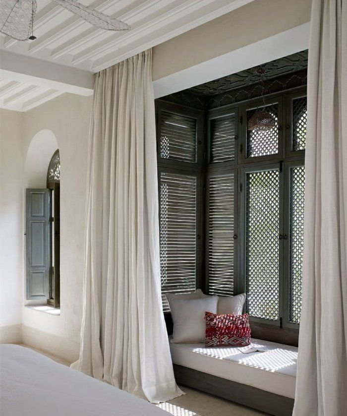 la deco chambre romantique 65 id es originales oriental style oriental and. Black Bedroom Furniture Sets. Home Design Ideas